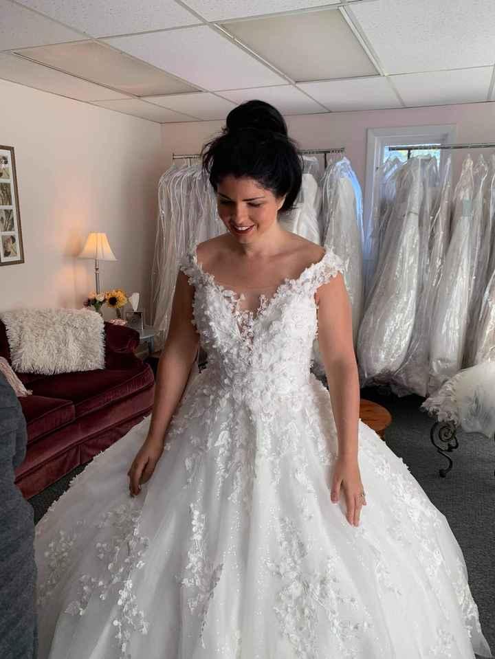 Wedding dress doubt - 3