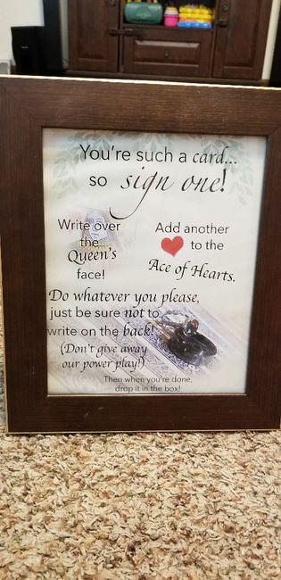 Guest Book wording? - 1