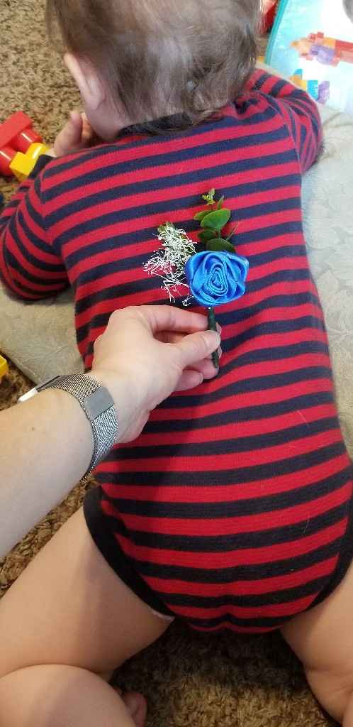 fh and our Son Boutonniere... - 2