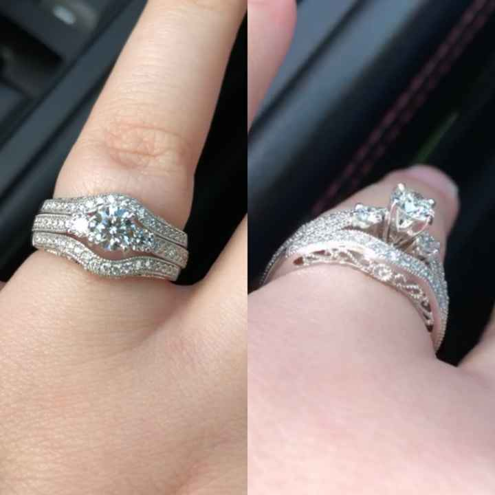 Let me see your wedding bands - 1