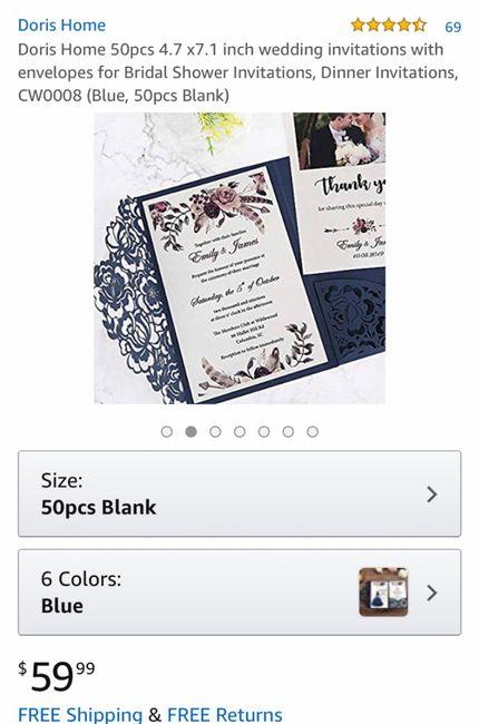 Wedding Invitations on a Budget 2