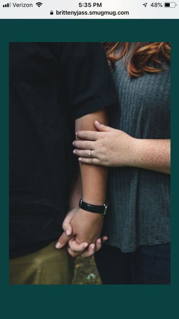 Admidst the Covid-19 panic, post your favorite picture from your engagement shoot. 18