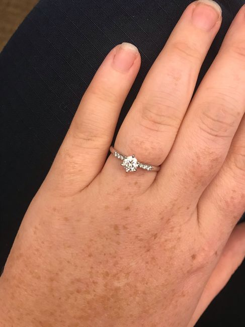 i want to see your engagement rings! 9