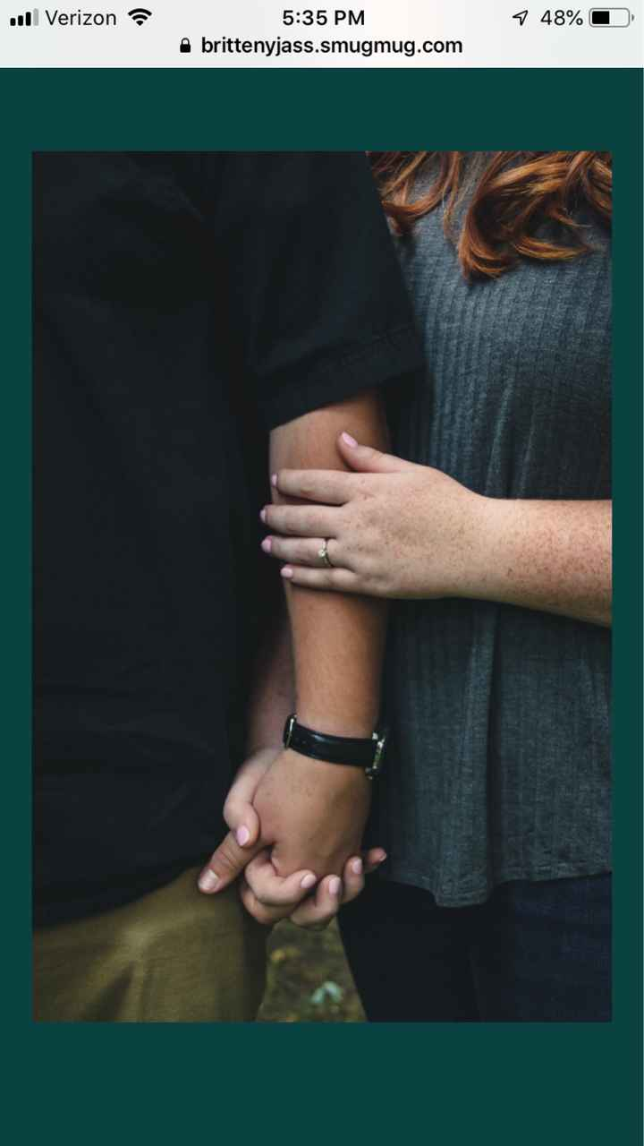 Show off your favorite engagement pictures - 1