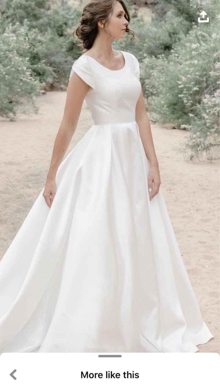 Antique Ivory Wedding Gown? Pics Please! - 1