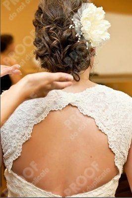 Wedding hair! Let me see it!