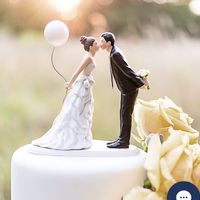 Cake decoration - flowers or cake topper? - 1
