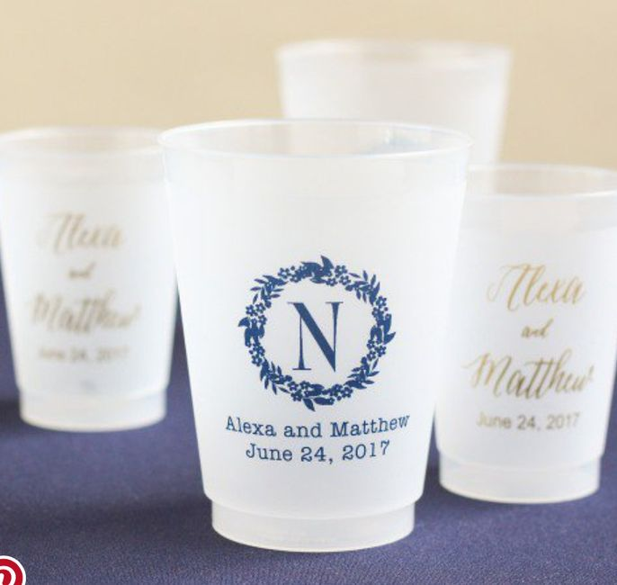 Are Plastic Cups Tacky At The Reception Weddings Wedding Attire