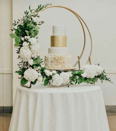 Cake idea. I found similar rings for $20-$25 online. Could be a fun DIY