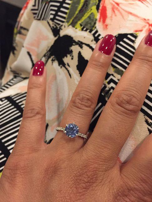 Blue wedding ring 7