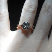 Show me your RING...engagement and/or wedding band :)