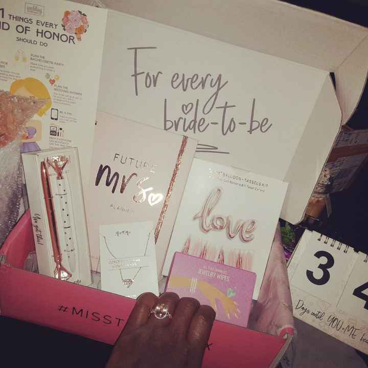 Has anyone bought a bridal subscription box? - 1