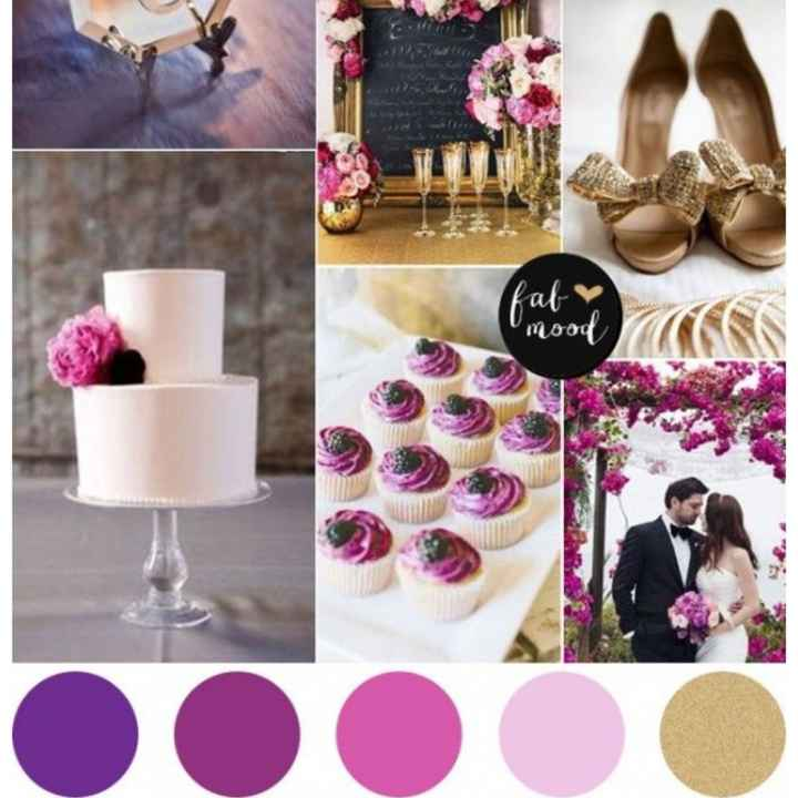 What colors did you choose for your wedding? - 1
