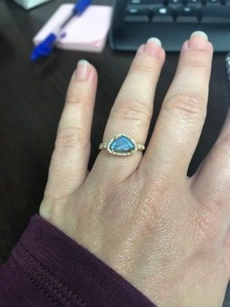 Who else has gemstones in their ring(s)?  Let's see them! 13
