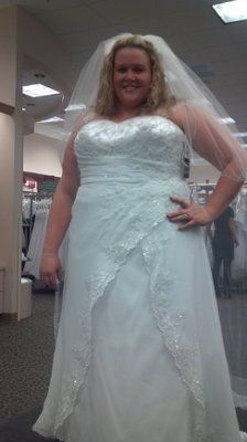 I said yes to the dress... Plus size bride here. | Weddings, Wedding ...
