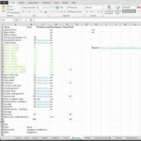 excel example