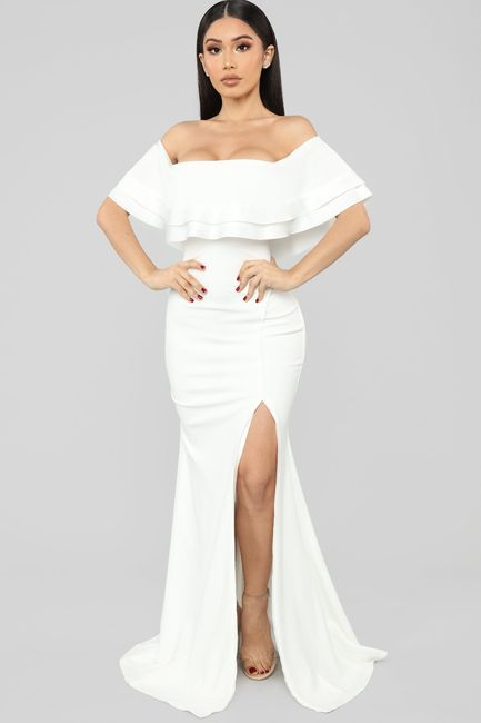 Honest opinions please on reception dress 2