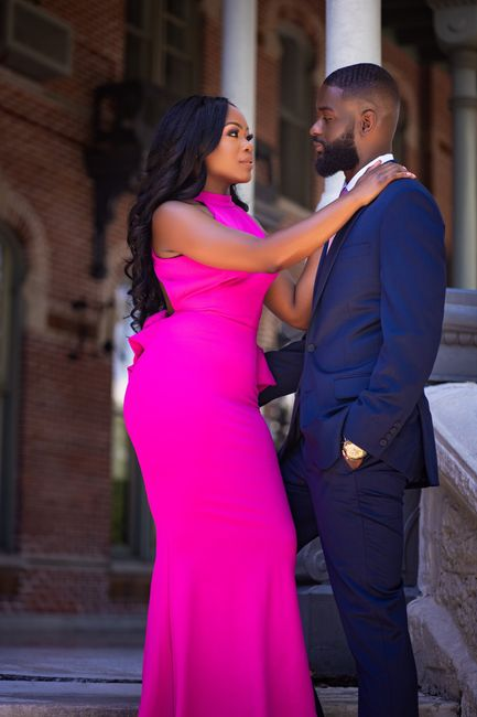 Drop an Engagement Pic with your Date & venue location 1