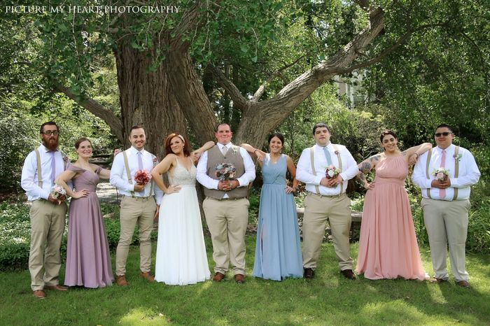 Mismatched bridesmaid dress examples? 11