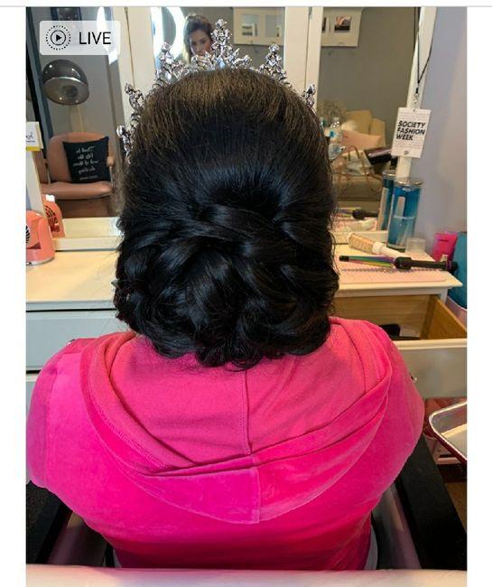 Hair trial😍 1