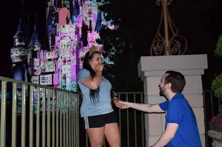 Proposal pics at Disney! - 1