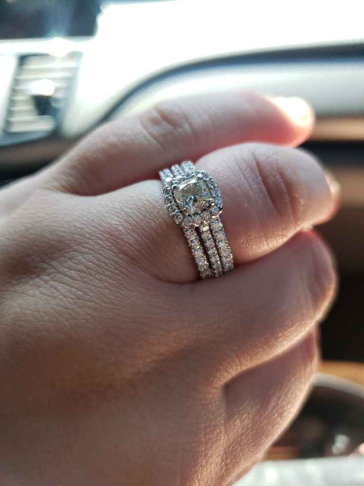 Show me your wedding ring set - 1