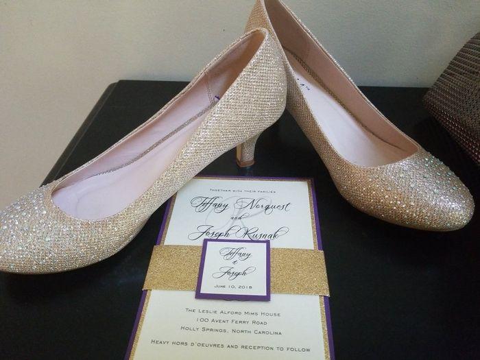 Wedding shoes!! 7