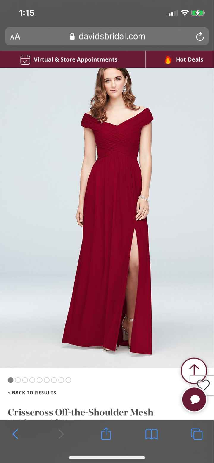 In search of Bridesmaid Dresses Made in usa - 1