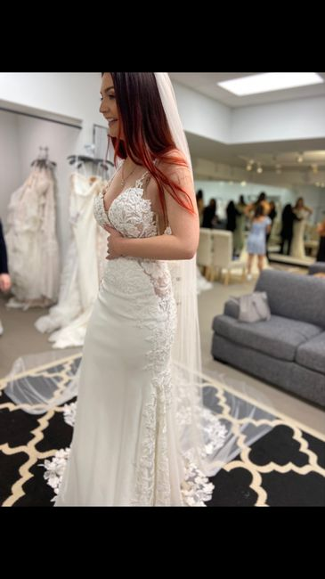 I said yes to my dress! 1