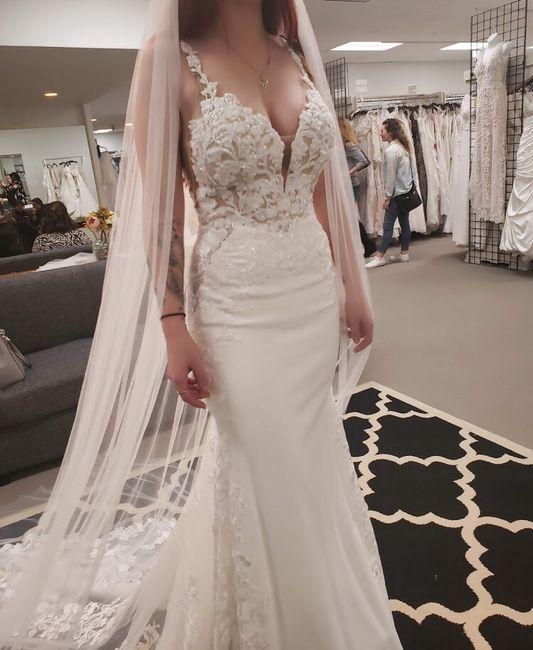 I said yes to my dress! 2