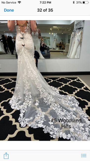 I said yes to my dress! 3