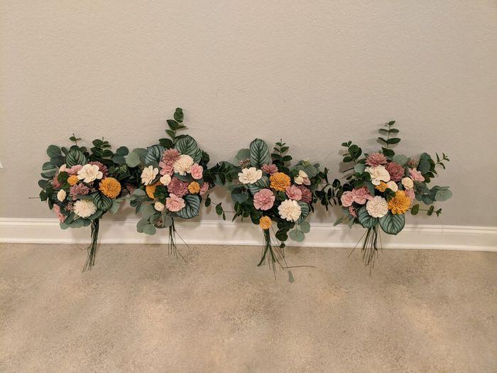Bridesmaid Bouquets 1