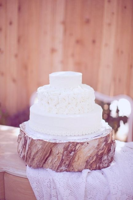 Help Wood Slabs For Cake Stand And Centerpieces Weddings Style