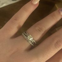 Is there a wedding band that would go with this ring? - 1