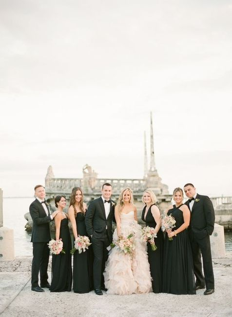 Over or Under: 9 Wedding Party Members? 1
