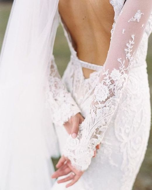 Who is your wedding dress designer? 2
