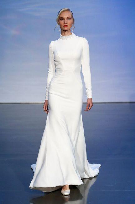 Fall 2019 Trends From Bridal Fashion Week Weddings Wedding