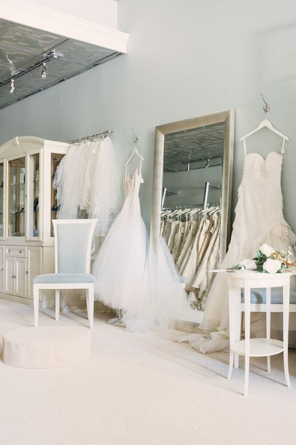 Which came first: booking your photographer or buying your wedding dress? 1
