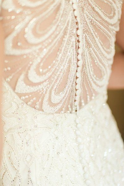 Does your wedding dress have lace, beading, or both? 3