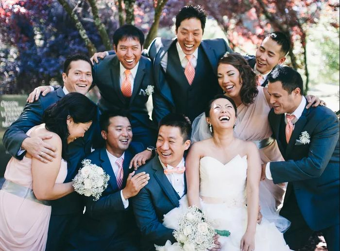 Does Your Wedding Party Have Even Sides? 1