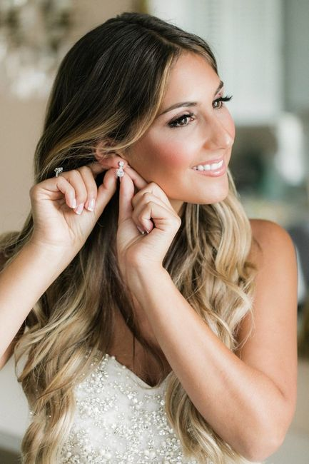 Full Glam or Soft Glow: Tell Me Your Wedding Day Makeup Look! 2