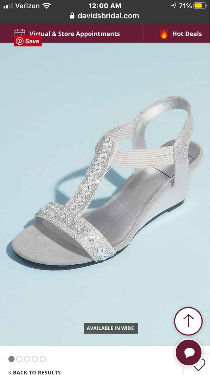 Shoes for backyard wedding - 1