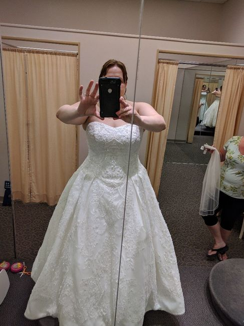 Did you say yes to the dress? 7