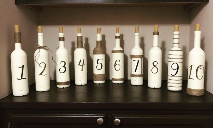 Table Numbers! - share yours!! 1