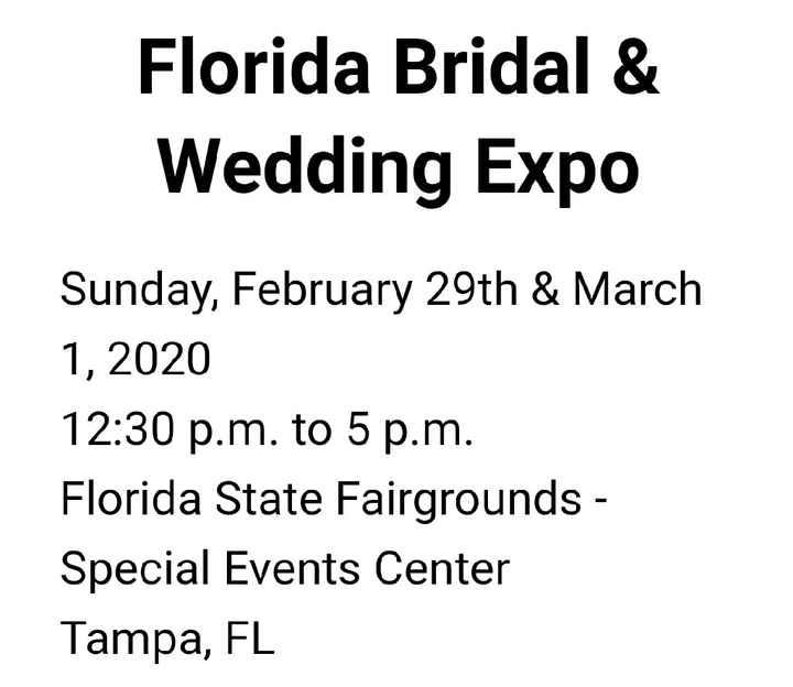 Florida Bridal & Wedding Expo - 1
