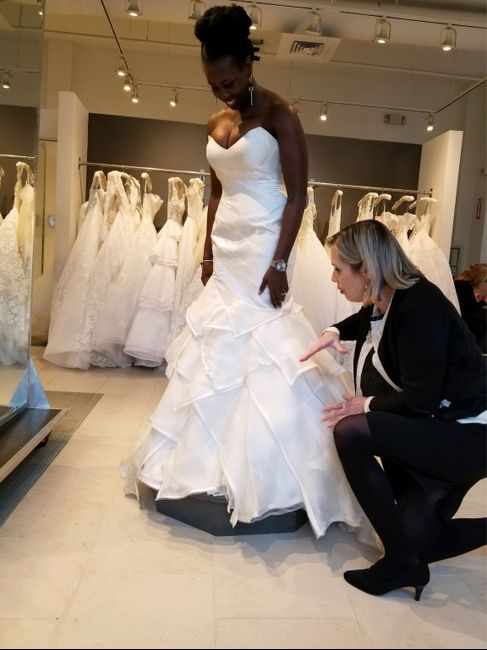 My Wedding dress!! Now let me see yours!! 5