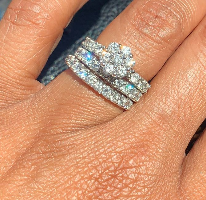 Girls, what about cluster diamond rings? - 3