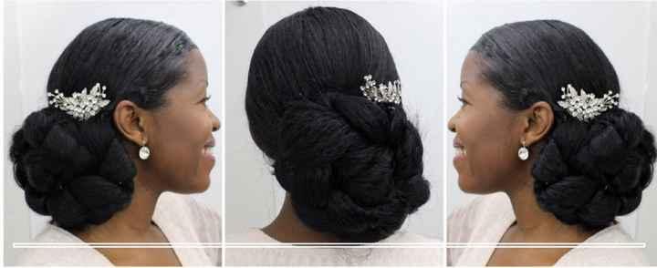 African American Bridal Hairstyles (natural Hair) - 1