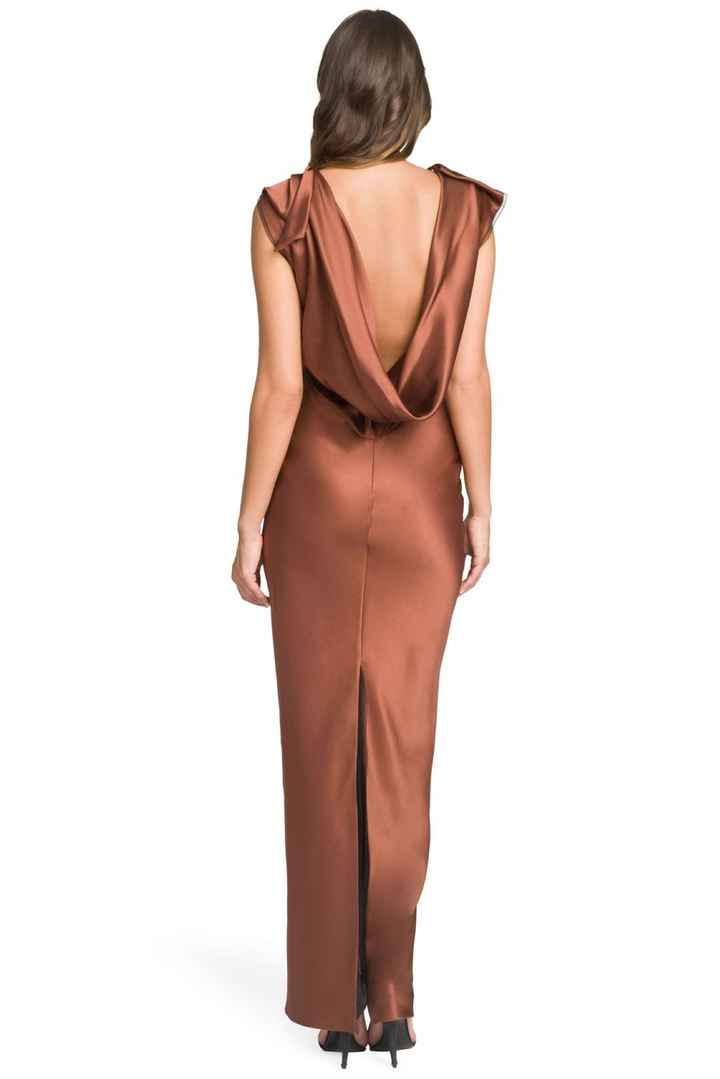 Copper/dark Rose Gold Bridesmaid Dress help - 2