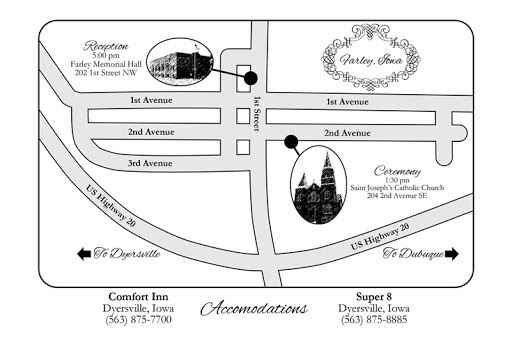 Ceremony and reception at different locations? - 1